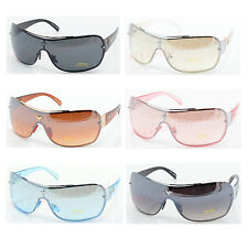 Aviator Fashion Sunglasses Shades Retro Wrap Men Women Solid Color 3010
