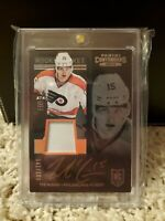 2013 Playoff Contenders Ticket Signatures /100 Tye McGinn RPA Rookie Patch Auto