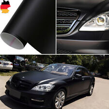 3D Auto Folie MATT 50x152cm KFZ Klebefolie Car Wrapping Folie blasenfrei schwarz