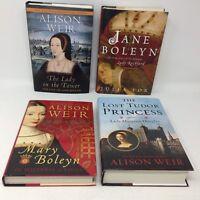 Lot of 4 1st ed HC Historicial WOMEN Biography: Boleyns: Anne, Jane & Mary, etc