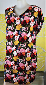 AUTOGRAPH FLORAL MID LENGTH DRESS SIZE 18 new with tags