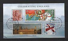 GB Stamps 2007 'Celebrating England' sg MSEN50 - Fine used