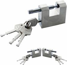 Amtech 50mm All Steel Shutter Lock with 4 Keys