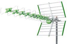 Antenna Tv Uhf Dvb-T Digitale Esterno 38 Dbi Hd 24 Elementi Linq Li-W38b