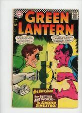 GREEN LANTERN #52 | DC | April 1967 | Vol 2 | Alan Scott, Sinestro