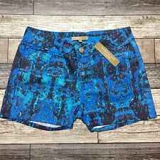 Romeo And Juliet Couture Shorts Women's 29 (Actual W28 L3) Blue (Msrp 155.00) C4