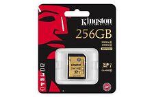 Tarjeta Memoria SD 256 GB 90MB/s 600x CLASE 10 Kingston Pro SDHC 90 Class UHS-I