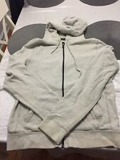 Abercrombie & Fitch Muscle Hoodie with zipper Mens Size L Grey