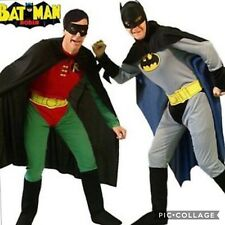 Batman and Robin adult fancy dress costumes Party fun  clearance