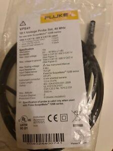 Fluke VPS41 Oscilloscope Probe Set 40Mhz for Fluke 123B 124B 125B ScopeMeter