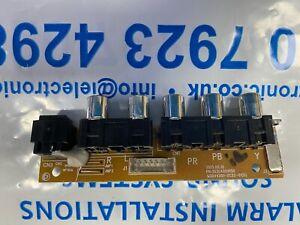 """JVC TV AV PORT BOARD 303C4201056  MSDV4201-ZC22-01 (D) for LT-50C550 50"""""""
