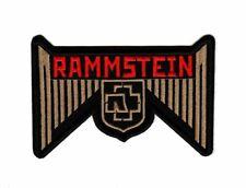 Rammstein Patch Hard Rock Heavy Metal Band Logo