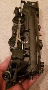 PREWAR LIONEL 1666E GUN METAL GRAY STEAM LOCO ELECTRIC TRAIN ENGINE - COLLECTION