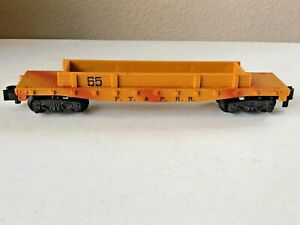 AMERICAN FLYER S Scale #24565 FY & PRR Cannon Car (no cannon)