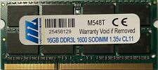 Lenovo 4X70J32868 16GB DDR3L-1600 SODIMM (PC3 12800) Laptop Memory 03X7015