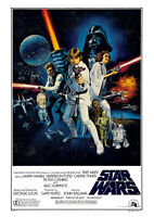 STAR WARS A New Hope, The Empire Strikes Back, Return of the Jedi – Poster Art