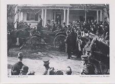 "*Postcard-""President Wilson in Staunton"" -Virginia's Presidential Homes (#64)"