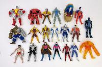 "Marvel Legends Toy Biz 1990's 6"" Figures Lot X 20 Wolverine Ice Man Colossus VTG"