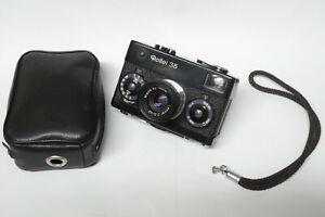 Rollei 35 analoge Kompaktkamera mit Tessar 3,5 / 40 mm Objektiv schwarz