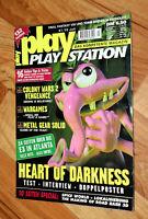 1998 PlayStation Magazin spyro the dragon Crash Bandicoot Warped Dead or Alive