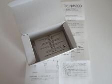 Kenwood MC-47... (caja de cartón y las instrucciones solamente)... radio _ trader _ Irlanda.