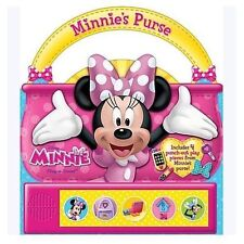 Disney Minnie Mouse Purse: Play-a-Sound Book New & Sealed