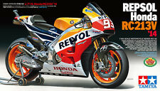 Tamiya 14130 1/12 Scale Model Kit Repsol Honda RC213V '14 MotoGP Marc Marquez