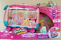 Shopkins Cutie Cars Play 'N' Display Cupcake Van With Exclusive Cutie Car QT3-38