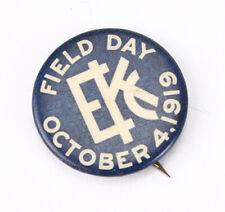 KODAK PIN, FIELD DAY OCT 4, 1919, ABOUT 1-1/4 INCHES ACROSS/cks/214004