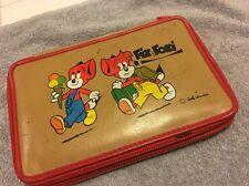 Fix und Foxi crayon bag Vintage Rare
