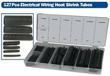 127pcs Electrical Wiring Wire Cable Heat Shrink Tubing Tubes Sleeving Wrap + Box
