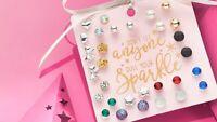 Avon Elissa Earring Gift Set set of 15 sparkling earrings set