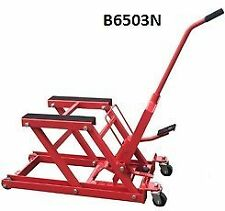 MOTORCYCLE LIFT STAND HOIST HYDRAULIC TROLLY1500LBS / 680KG JACK Part No. = B650