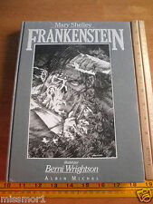 Berni Wrightson signed numbered Frankenstein HC book Mary Shelley 1984 French