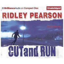 Cut and Run by Ridley Pearson (English) Book on Compact Disc 5 cd abridged  6 hr