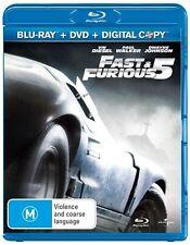 Fast & Furious 5 (Blu-ray, 2011)