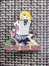 10 wholesale GRATEFUL DEAD DEAD HEAD ON THE ROAD AGAIN SUMMERTIME CLOISSONE  PIN