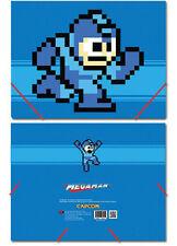 *NEW* Mega Man: MegaMan 8-Bit Elastic Band Document File Folder by GE Animation