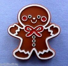 BUY1&GET1@50%~Hallmark PIN Christmas GINGERBREAD Boy COOKIE Man Vtg Brooch