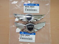 Genuine KDM Hood Trunk Emblem For 10~2013+ Hyundai Genesis V8 5.0 V6 3.8