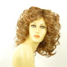 Perruque femme mi-longue blond foncé méché blond clair JAMELIA F27613