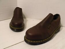 Dr Martens INDUSTRIAL STEEL TOE Slip On Work Shoe Women's SZ 8M 41EU  EUC