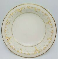 """Vintage Noritake China Fragrance COUPE SOUP BOWL 7 1/2"""" Yellow Daisy Flower"""