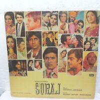 Suraj LP Record Bollywood Hindi Shankar jaikishan 1966 Rare Vinyl Indian EX