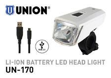 MARWI UNION LED BIKE HEADLAMP UN-170 LI-ION USB RECHARGEABLE BATTERY HEADLIGHT
