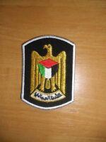 POLICE PATCH PALESTINE - National patch - ORIGINAL! RARE!