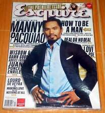 ESQUIRE MAGAZINE PHILIPPINES EDITION ISSUE #1 FIRST! OCTOBER 2011 MANNY PACQUIAO