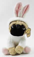 Pug Bunny Soft Plush Toy Kids Beanie Stuffed Cuddly Children Baby Costume Gift