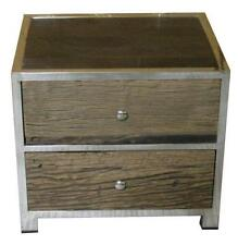 Wood Contemporary 51cm-55cm Bedside Tables & Cabinets