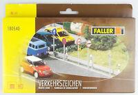 FALLER 180540 H0 Verkehrszeichen (BRD 1977 - 1985), Bausatz,, OVP, top!